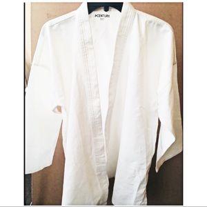 Century Jackets & Coats - ✳️ Century White Karate Uniform Size 3